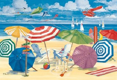 Jigsaw puzzle Meet me at the beach (Ravensburger) cover image