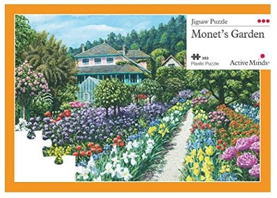Jigsaw puzzle Monet's garden (Active Minds) cover image
