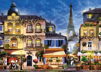 Jigsaw puzzle Pretty Paris (Ravensburger) cover image
