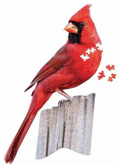 Jigsaw puzzle I am cardinal (Madd Capp) cover image