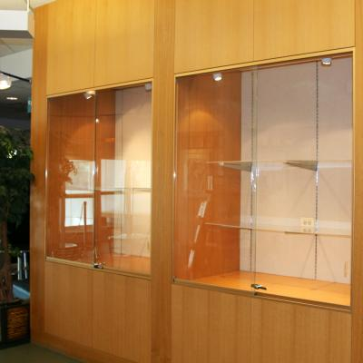 Lobby Display Cases