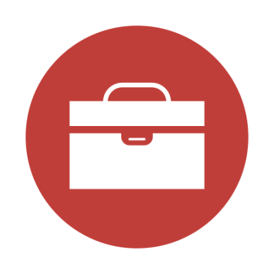 graphic of a briefcase
