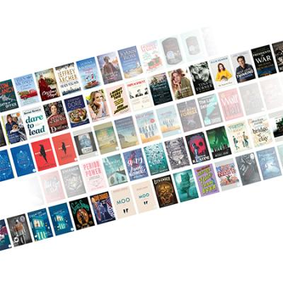 Graphic of Rows of Books
