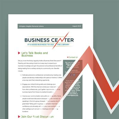 graphic with Business eNewsletter