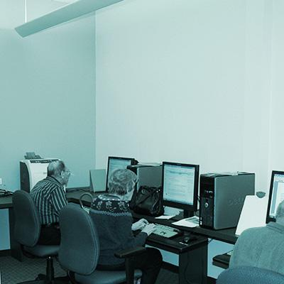 Photo of Computer room