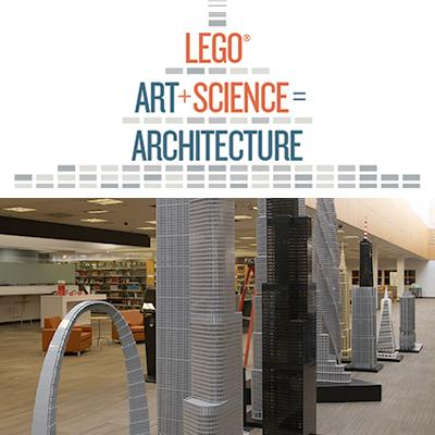 Lego Art Plus Science Equals Architecture