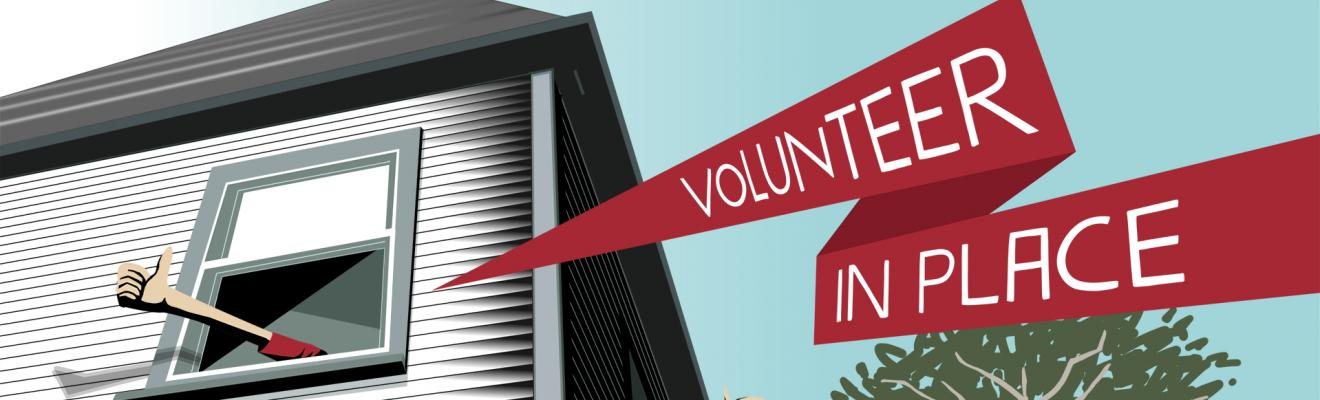 Volunteer in Place Banner Image